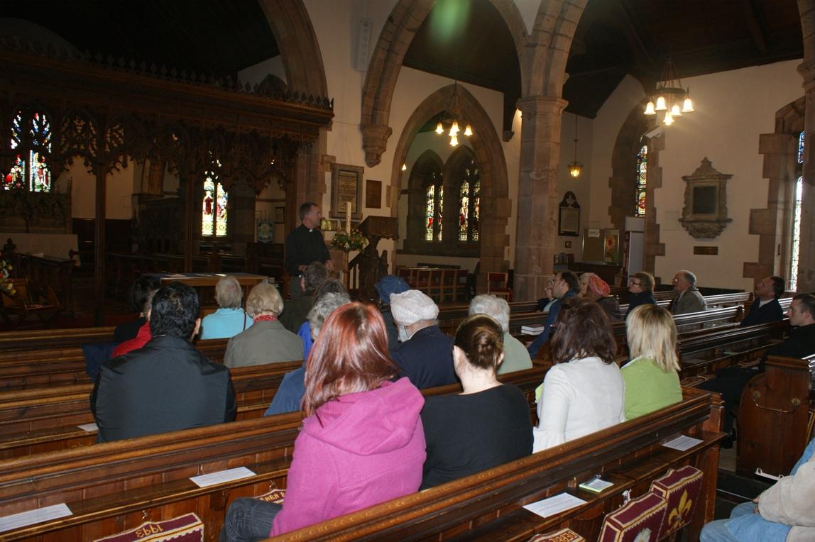 2009 Faiths Trail - St Nicholas Church Kenilworth