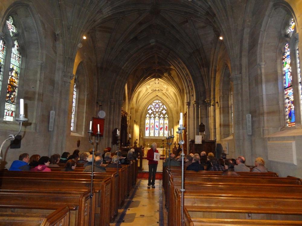2012 Faiths Trail - St Leonard's Church Charlecote