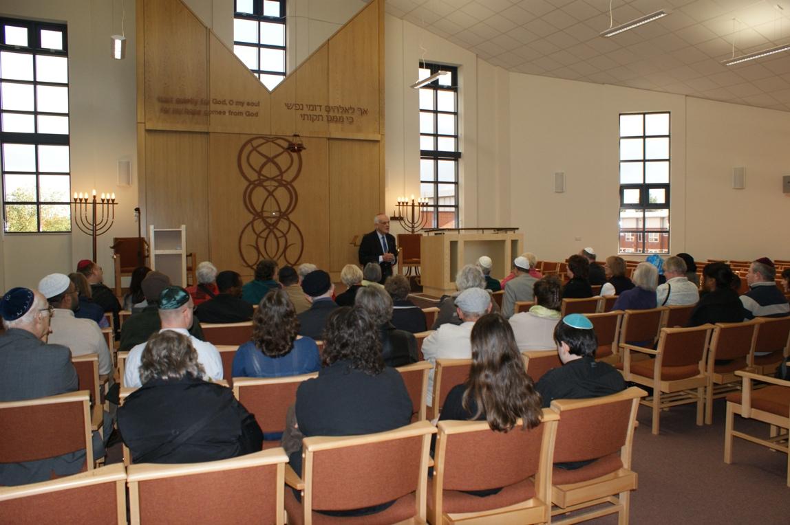 October 2010 the Birmingham Progressive Synagogue