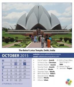 Faiths Calendar 2015 11