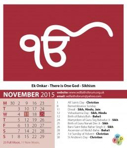Faiths Calendar 2015 12
