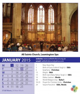 Faiths Calendar 2015 2