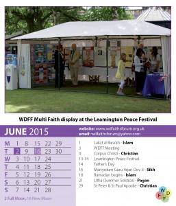 Faiths Calendar 2015 7