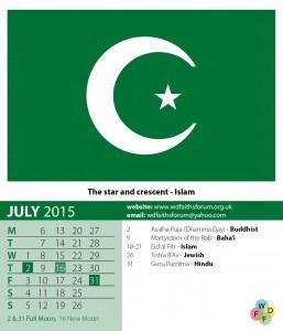 Faiths Calendar 2015 8