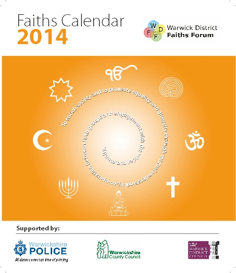 Faiths Calendar 2014