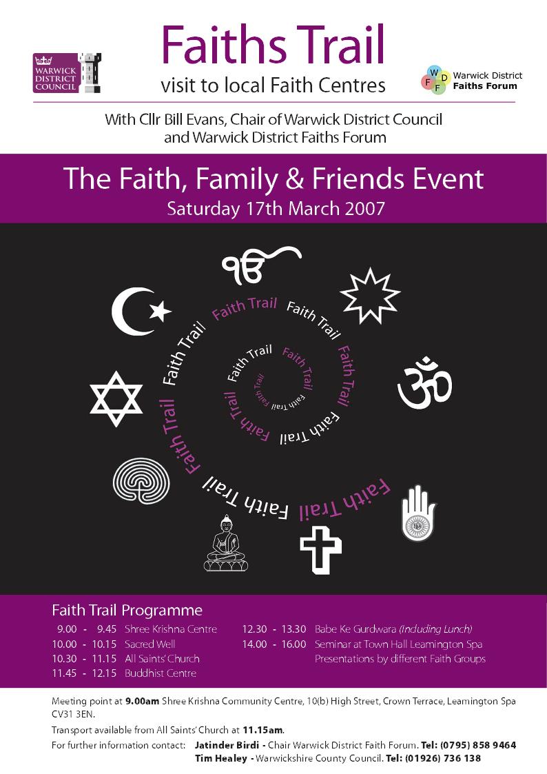 Faiths Trail 2007