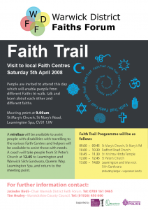 Faiths Trail 2008