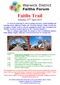 Faiths Trail 2015