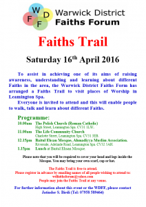 Faiths Trail 2016